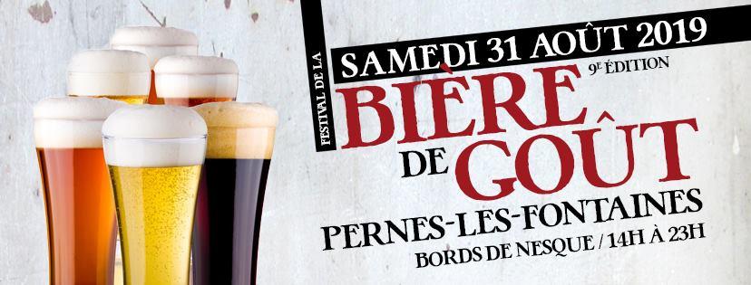 festival de la bière de gout à Pernes les fontaines