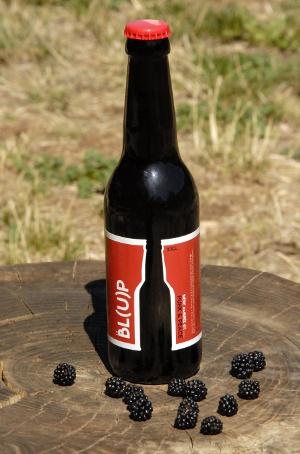 La Blup bière ambrée à la mure sauvage