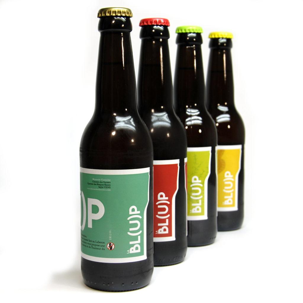 La Bl(u)p bière de l'est du Vaucluse / Bière brassée à Viens par la Brasserie Viensoise, Luberon